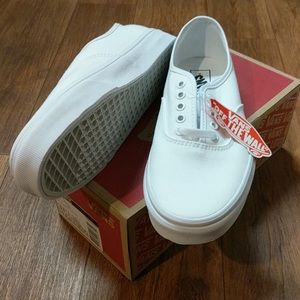 White vans and size!
